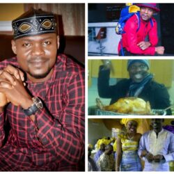 Meet The Yoruba Comic Actor Baba Ijesha and His gorgeous Wife