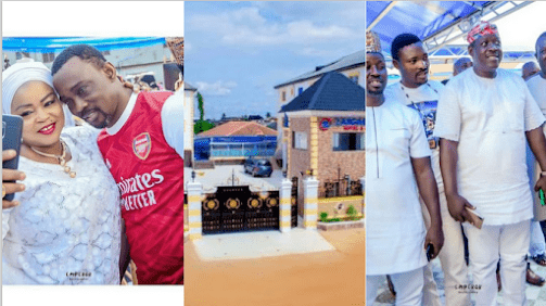 Ogogo, Yetunde Wunmi, Other Nollywood Stars Storms MC Oluomo Deputy's Hotel Grand Opening. (Photos)