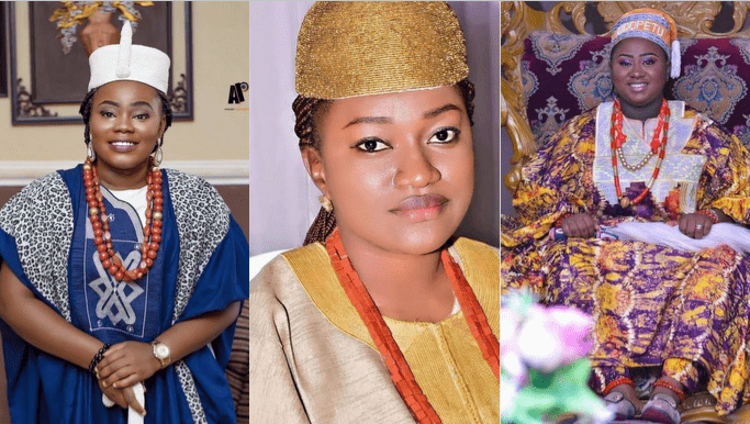 Checkout The 7 Beautiful Nigerian Female Kings in Yoruba land In Charge Of Their Kingdom.