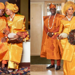 Faithia Williams, Mercy Aigbe, Other Nollywood Stars Storms Actress Seliat's Wedding Ceremony. (Photos)