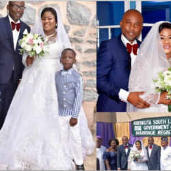 After 22 Years Of Friendship, Yoruba Actress Oyinkansola Emmanuel Finally Married Her Baby Daddy. (Photos)