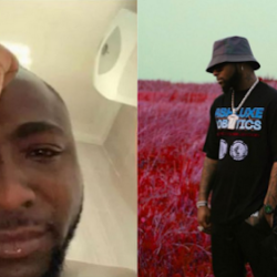 Davido Breaks Down In Tears As COVID19 Affects Him Again.
