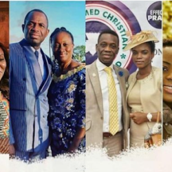 Pastor Adeboye Delighted As All Of His Four Children Celebrated Their Wedding Anniversary On The Same Day.