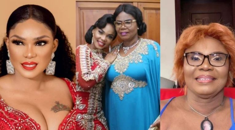 """I'm So Glad I Made My Sweet Mama Laugh"" – Iyabo Ojo Says As She Shares Funny Videos Of Her Late Mum"