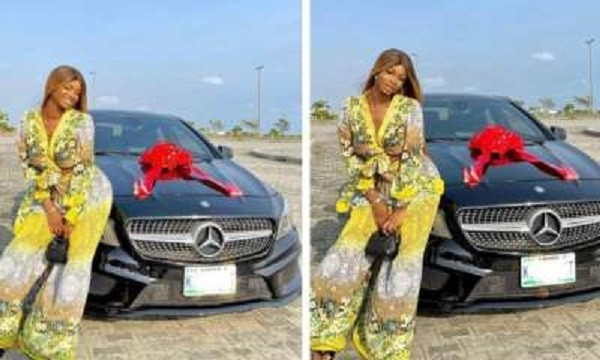 Iyabo Ojo's 19-year-old daughter gifts herself a Benz