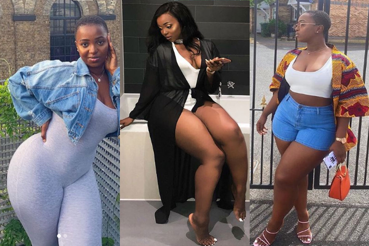 SEE Breathtaking Photos Of Jopearl, The Curvaceous Lady Burna Boy Is Allegedly Cheating On Stefflon Don With