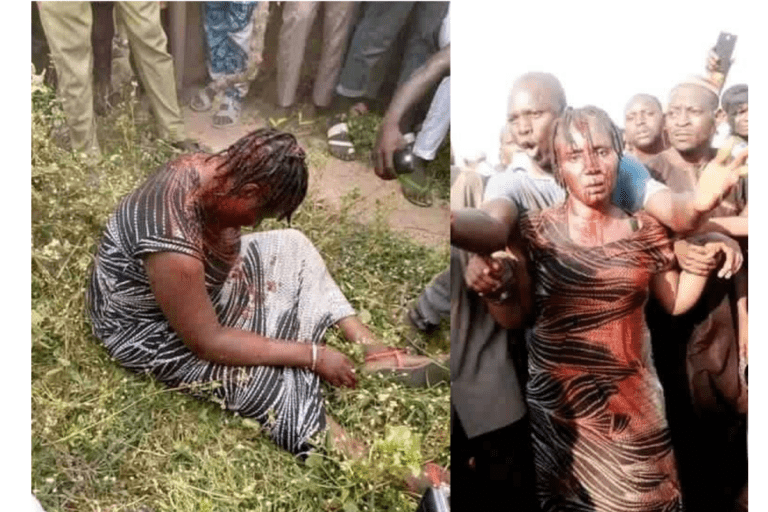 Angry Mob Beat Woman To Pulp For Allegedly Kidnapping Children In Nasarawa