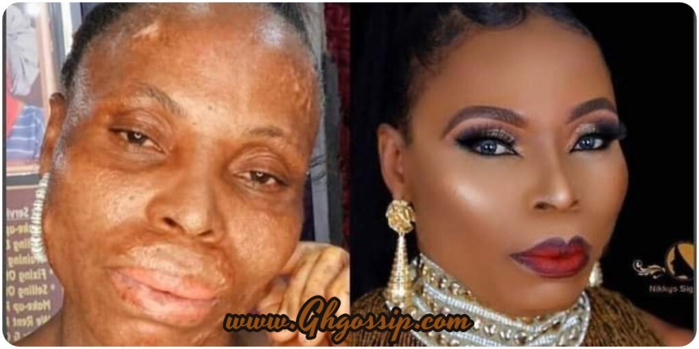 I Think I'm Officially Done With Make-up Artist'- See Reactions After Old Woman Was Transformed Into A Gorgeous Lady
