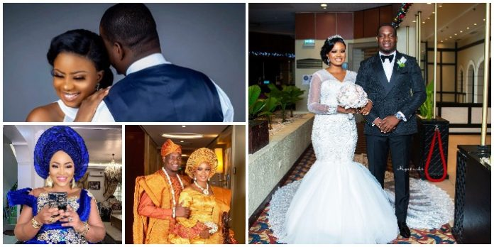 Mercy Aigbe, Faithia Williams and other Nollywood celebrities storm the wedding ceremony of Yoruba actress, Seliat – Watch Video