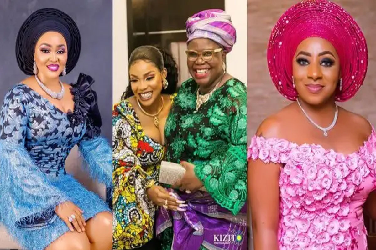 Why Funke Akindele, Mercy Aigbe, Mide Martins, And Others Were Absent At The Burial Ceremony Of Iyabo Ojo's Mum