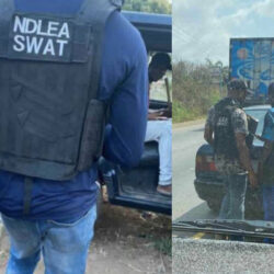 """NDLEA SWAT"" – Nigerians Call Out Mysterious Armed Security Outfit For Stopping Young People And Searching Their Phones"
