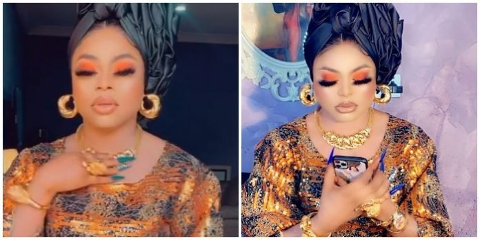 """You look pregnant"" – Fan reacts to Bobrisky's recent photos – watch Video"