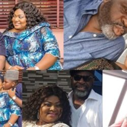 Meet Handsome Yoruba Actor Funsho Adeolu, His Wife And Their Children