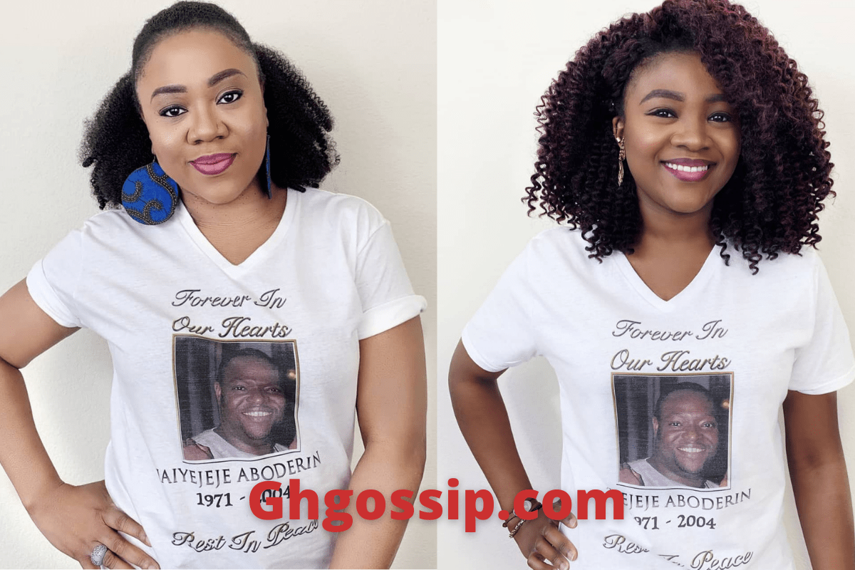 Famous Nollywood Actress Stella Damasus And Daughter Remember Late Husband On 16th Anniversary