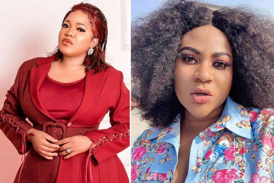 """It's Fine I love you more""- Toyin Abraham REPLIES Nkechi Blessing After Rendering Apology"