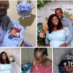 After 15 Years of Marriage, Nollywood Actress and Husband Celebrate Birth of their Child