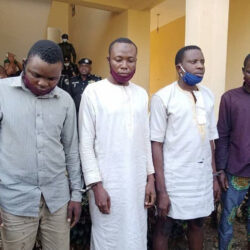 Police parade four suspected ritual killers in Osun