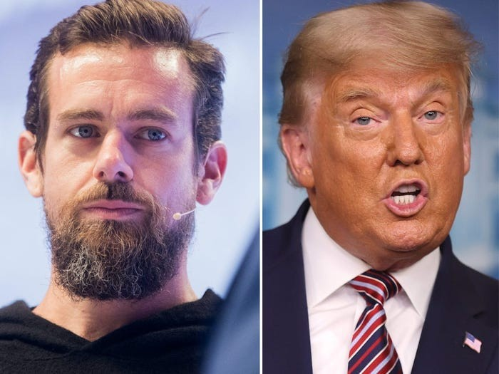 Twitter CEO Jack Dorsey says banning President Trump was a 'Right Decision' after US capitol riot