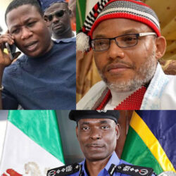 Nnamdi Kanu reacts to IGP's order for the arrest of Sunday Igboho over eviction notice to Fulani herdsmen