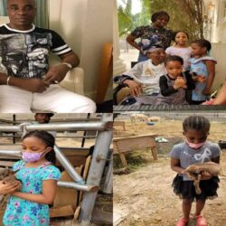 Meet Fuji King, Wasiu Ayinde, His Wife, Fathia Opeyemi,Children and His Aged Mother