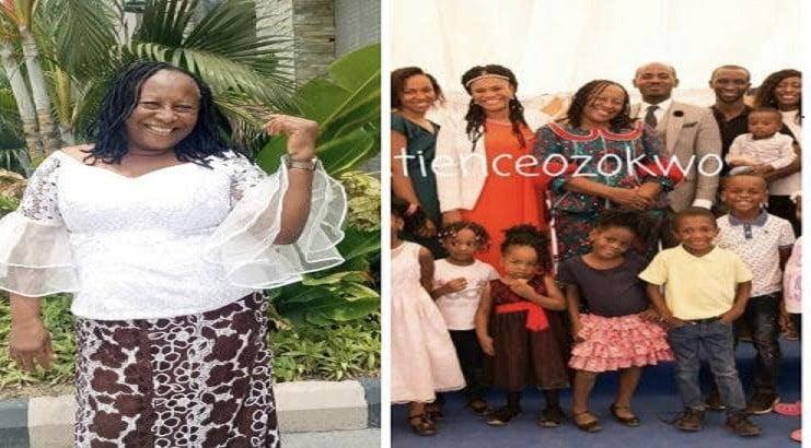 Patience Ozokwor shares photos of her 10 children and 14 grandchildren