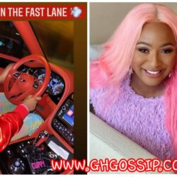 Dj Cuppy Takes Her Customized Bentley On A Ride In Dubai