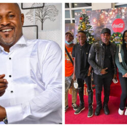 """""""Daddy duties"""" – Nollywood Actor Saheed Balogun says as he spend time with his grown up kids (photo)"""