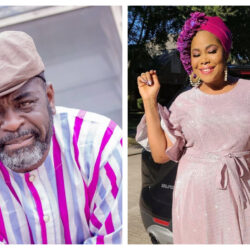 """Happy birthday to a woman of substance, seen a lot , gone through a lot, lost a lot but still standing""- Nollywood Actor Funsho Adeolu celebrates Toyin Alausa as she clock 43"