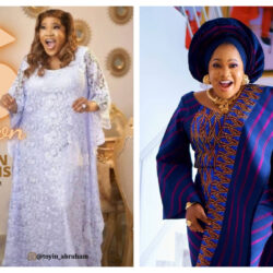 Nollywood Actress, Toyin Abraham thanks her fans as she attains another huge milestone