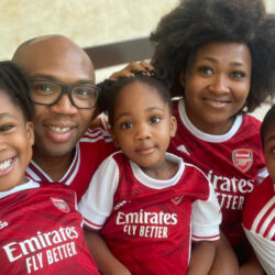"""You Just Subjected Those Kids To Torture"" – Twitter Users React To Photo Of Kids Wearing Arsenal Jersey (Photos)"