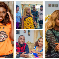 Yoruba Actress Adebimpe Oyebade Shares Location Pictures On Her New Movie Tittled 'Omo Olowo' [Photos}