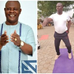 """Exercise is equally good for our body especially Healthwise""- Veteran Nollywood actor Yinka Quadri says as he was spotted working out (video)"