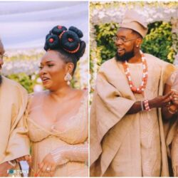 This is what actually happened in Abule -Nigerians react as Patoranking 'ties the knot' with Yemi Alade |photos