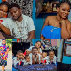 Meet Handsome Yoruba Actor Kunle Afod, His Wife And Their Children