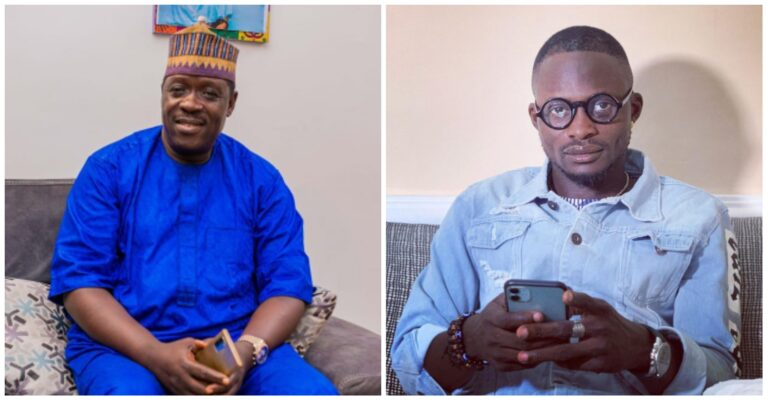 """One blow seven die""- Nollywood Actor Taiwo Hassan says after he beat Jigan to pulp for challenging him to fight (video)"