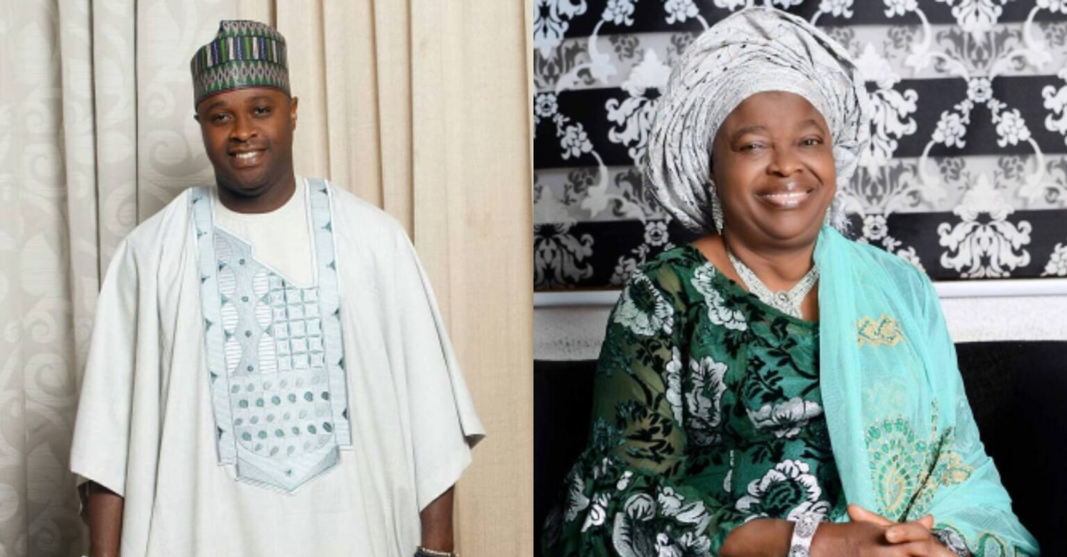 """""""My Beautiful mother and a strong pillar"""" Nollywood Actor Femi Adebayo celebrate his mother as she turns a year older today"""