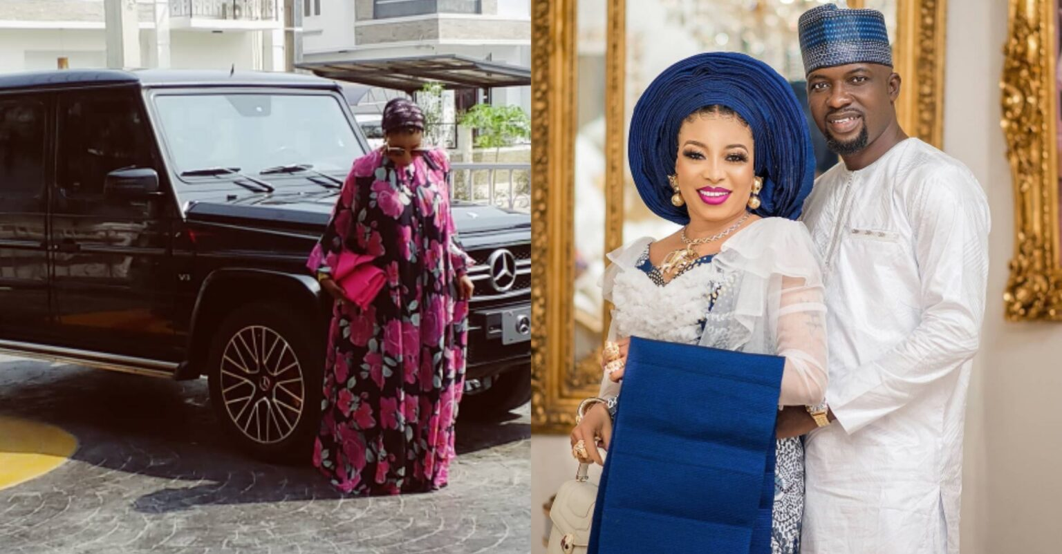 Yoruba Actress Liz Anjorin Lawal reveals she's now the proud owner of a Mercedes Gwagon (photo)