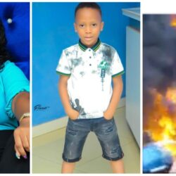 "Thank you lord for not giving me any reason to mourn over my SON and FAMILY"" Actress Omowunmi Ajiboye Recounts How Her Son Escaped From Abeokuta Tanker Explosion (video)"