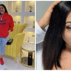 'It feels so good to be back home' – The Igbo born and Yoruba Actress Nkechi Blessing says as she finally returns to Nigeria from America
