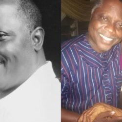 """""""The oldest female actor in Yoruba genre of nollywood""""- Veteran Actor Dele Odule Says As He Visits the 90 Years Old Yoruba Actress, Iya Osogbo (photo)"""
