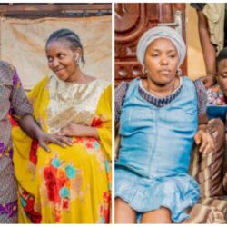 Yoruba Actor Afeez Owo shares pictures from a movie set with Odunlade Adekola, Okele & others (photos)