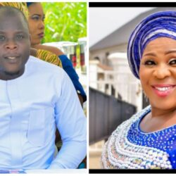 Meet Afeez Balogun, Yoruba Actress Madam Saje's Son (photos)