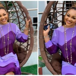 """""""Nothing is more beautiful than a real smile that has struggled true tears""""- Yoruba Actress Mercy Aigbe Says As She Thank God For The Grace She Had"""