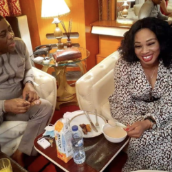 Femi Fani-Kayode Hosts Suzan Coker, Rant HQ Founder (Photos)