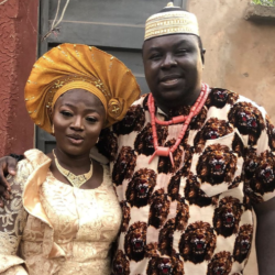 Actor Emeka Okoye Shares Photo As He Ties The Knot With Wife In Beautiful Wedding Ceremony
