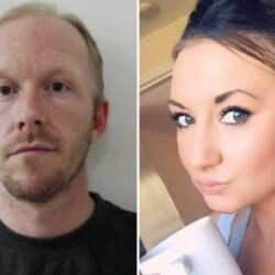 Man who strangled his girlfriend and slashed her throat is jailed for life