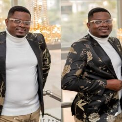 Beautiful Pictures Of Yoruba Actor Muyiwa Ademola's Wife And Children As he turn 50 Today