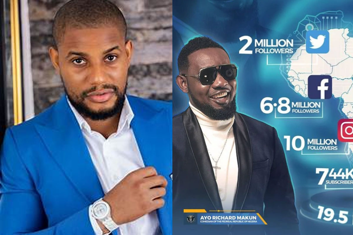 """""""You Are illuminati"""" -Alex Tells A.Y After He Became The Most Followed Comedian In Africa"""