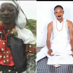 Like Father, Like Son!Meet Yoruba Actor, Lalude's Look-Alike Son Who Is Also A Traditionalist(Photo)