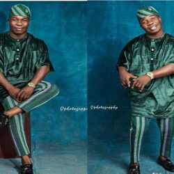 Lovely Photos of Dele omo woli, His Wife and Handsome Son as He celebrates His Birthday Today